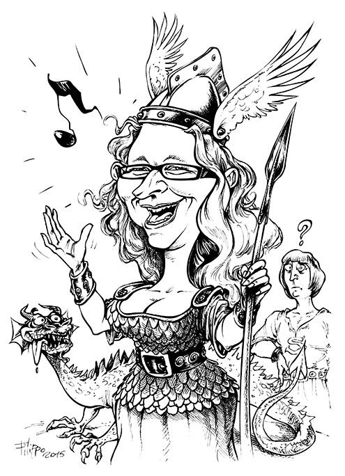 schnellzeichner promotion karikatur karikaturist