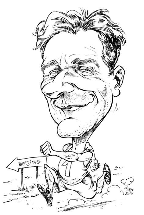 schnellzeichner firmenevent karikatur karikaturist