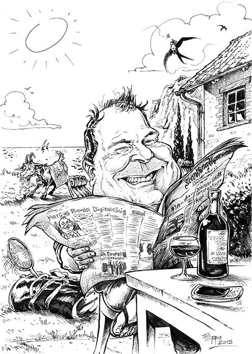 schnellzeichner karikatur Markus Brendel FAZ