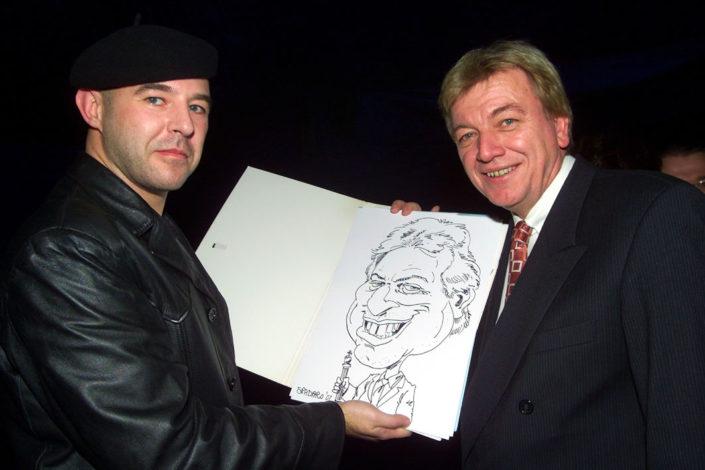 schnellzeichner karikatur buffier