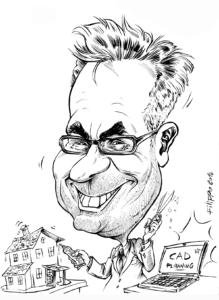schnellzeichner event karikatur auf papier karikaturist