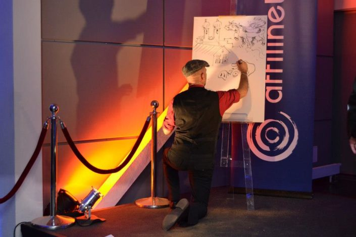 schnellzeichner event zeichnung karikaturist