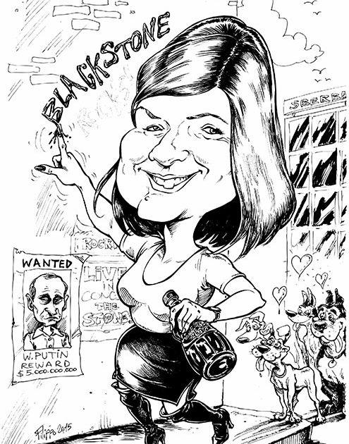 schnellzeichner filippo abschied karikatur