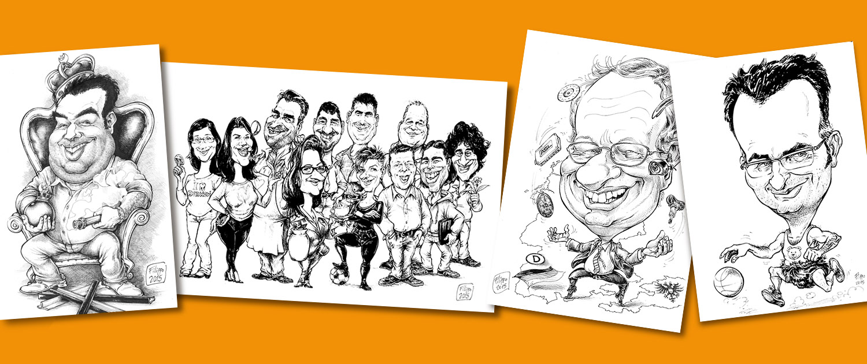 schnellzeichner messe event promotion karikaturist