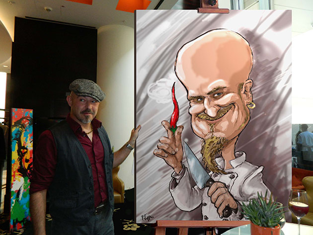 schnellzeichener ralf-zacherl karikatur karikaturist