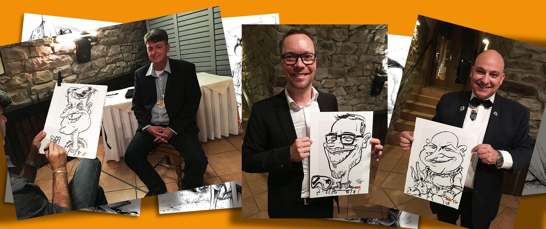 schnellzeichner event karikaturist