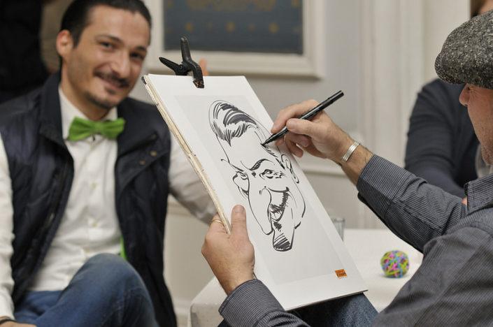 karikaturist schnellzeichner darmstadt, aschaffenburg, nürnberg, karlsruhe, stuttgart hochzeit