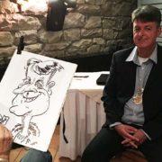 karikaturist veranstaltung schnellzeichner
