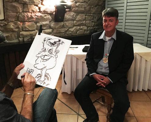 schnellzeichner veranstaltung karikaturen zeichnen lassen