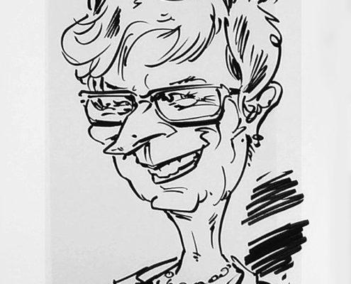 Karikaturist Hochzeit, Karikaturen zeichnen lassen vom Schnellzeichner
